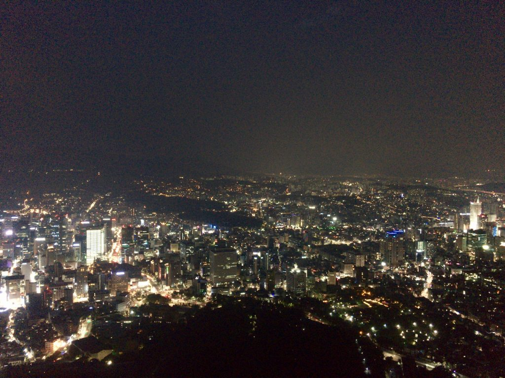 N Seoul Tower Skydeck