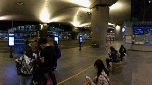 Outside Seoul Incheon Airport