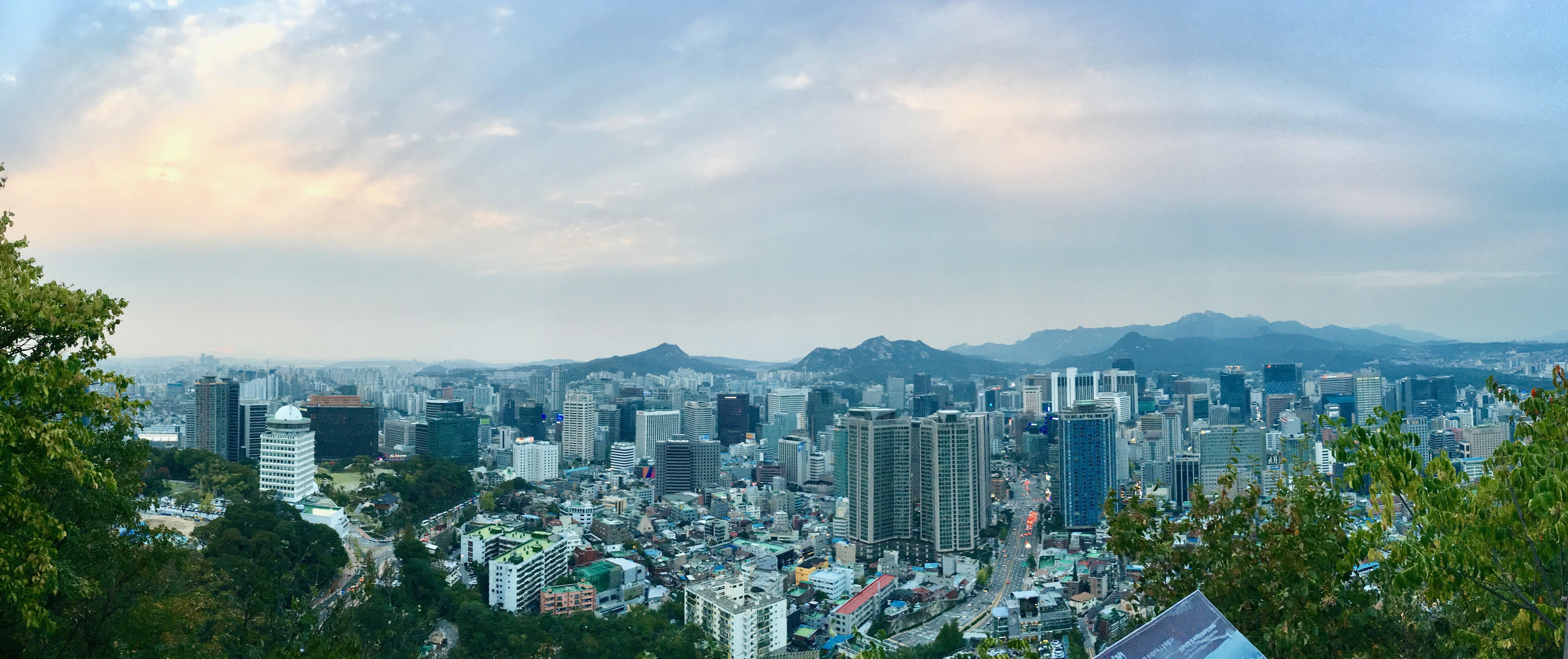Seoul from Namsan Park