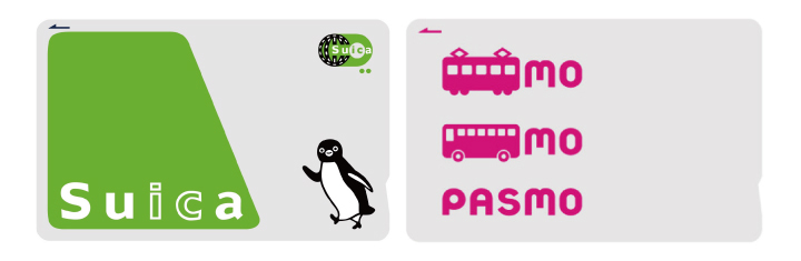 Suica and Pasmo