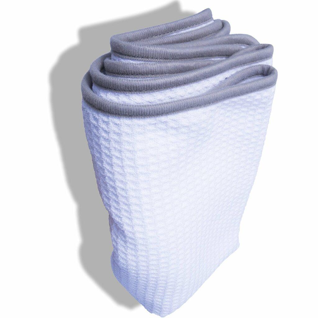 waffle weave towel