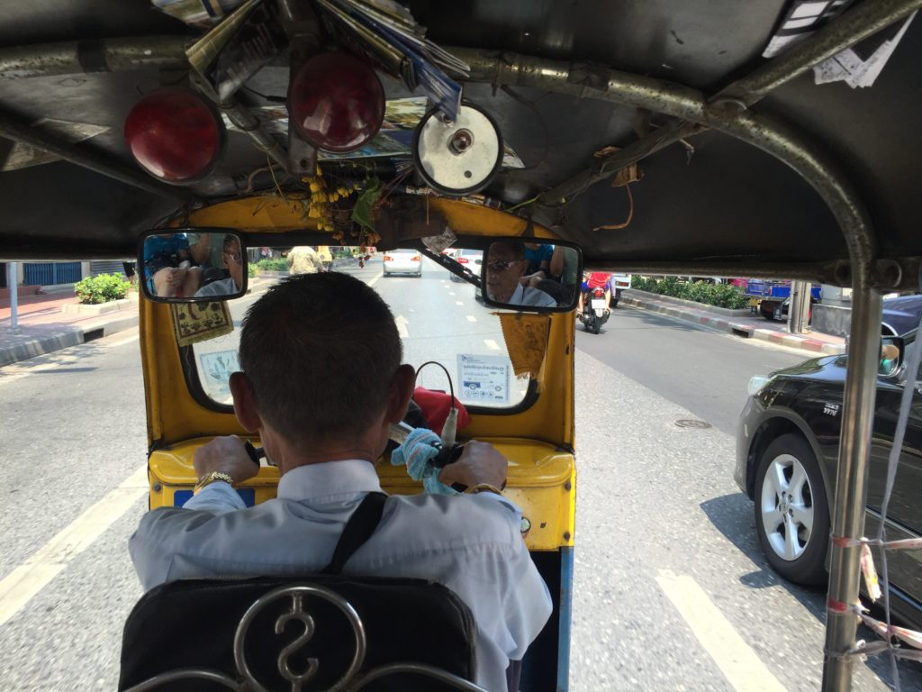 Cruise through the streets in Bangkok, in style.